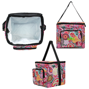Paisley Medallion Potluck Tote