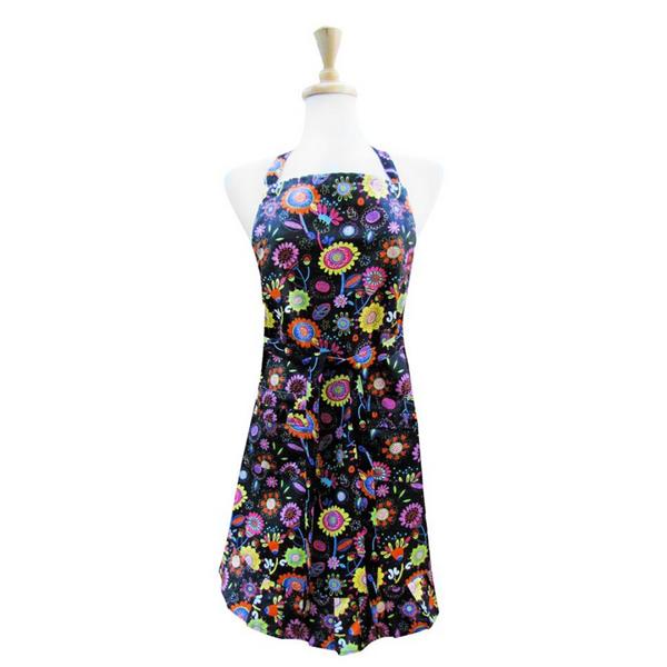 Poppy Flower Apron
