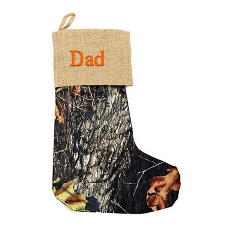 camo stockings, christmas stockings, stocking