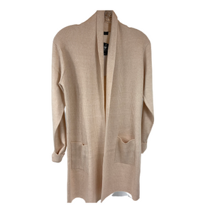 womens clothing, beige cardigan