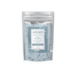 Hemp Extract Salt Soak