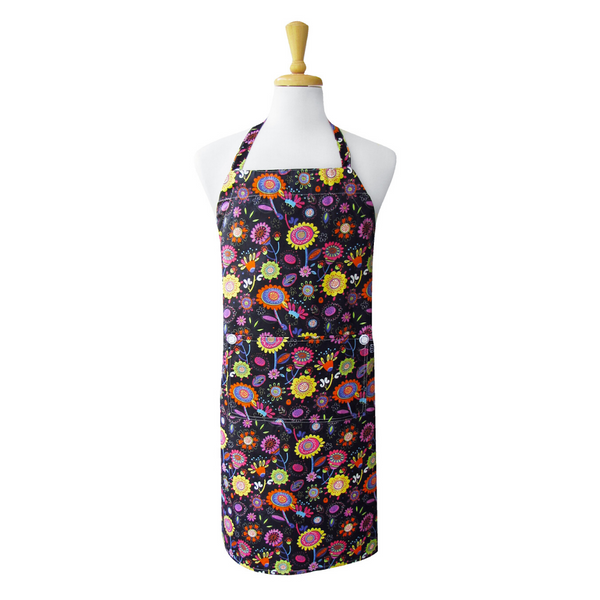 Bright Poppies Adult Apron