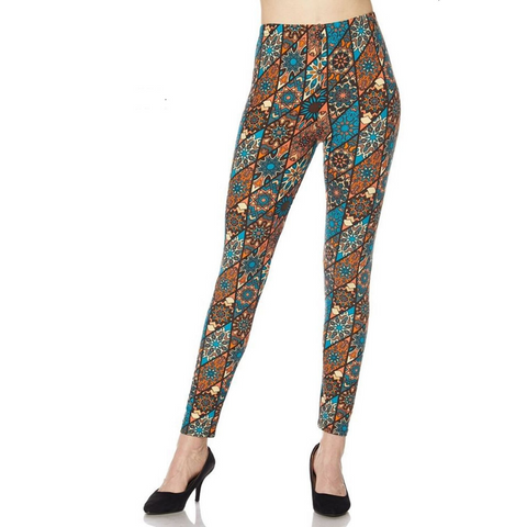 vintage pattern, vintage leggings