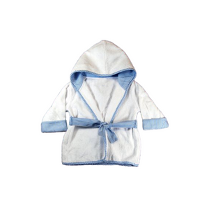 blue robe for infant