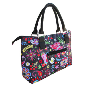 Pop Floral Lunch Tote
