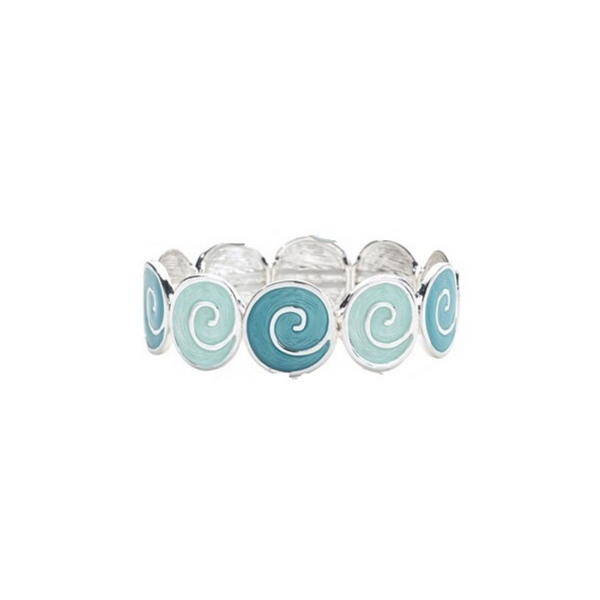Circle Swirl Stretch Bracelet