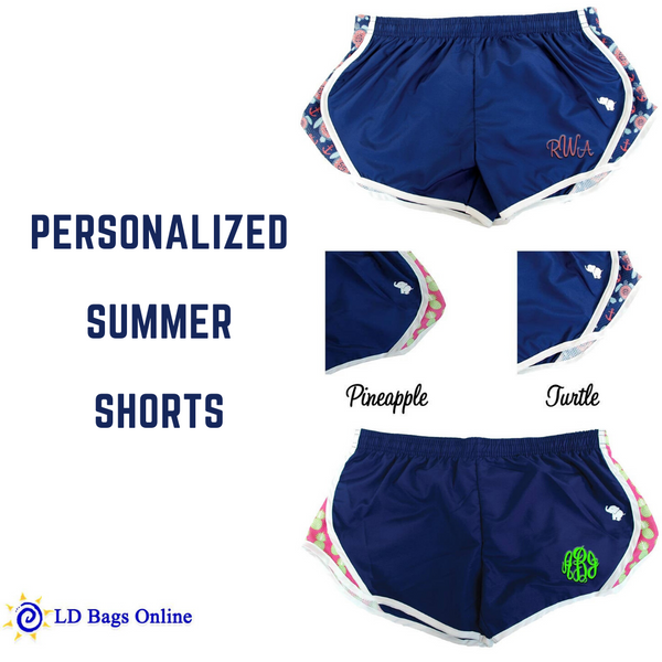 Navy Jogging Shorts
