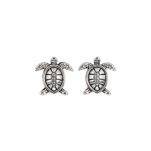 Small Sea Turtle Post Earrings