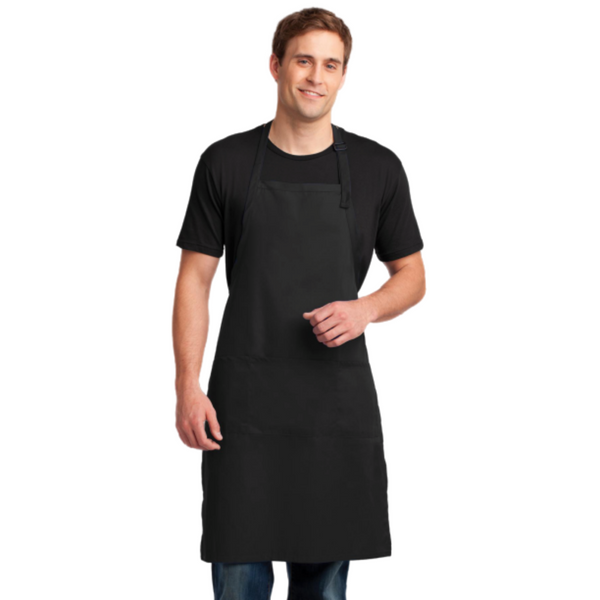 Easy Care Extra Long Bib Apron