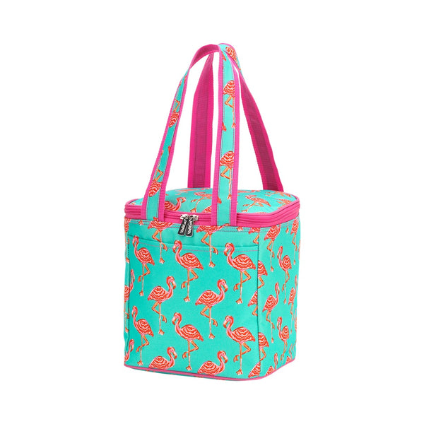 flamingo cooler tote