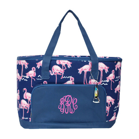 Pink Flamingo Cooler