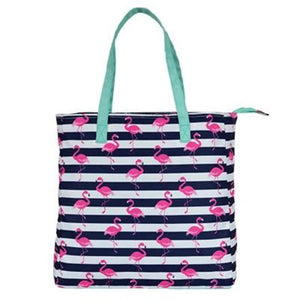 Flamingo tote bag, perfect for beach, pool or even for your everyday use.
