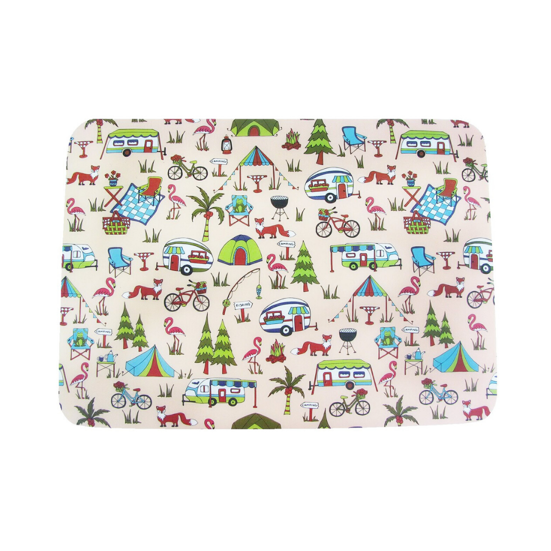 Camping Set of 4 Placemats