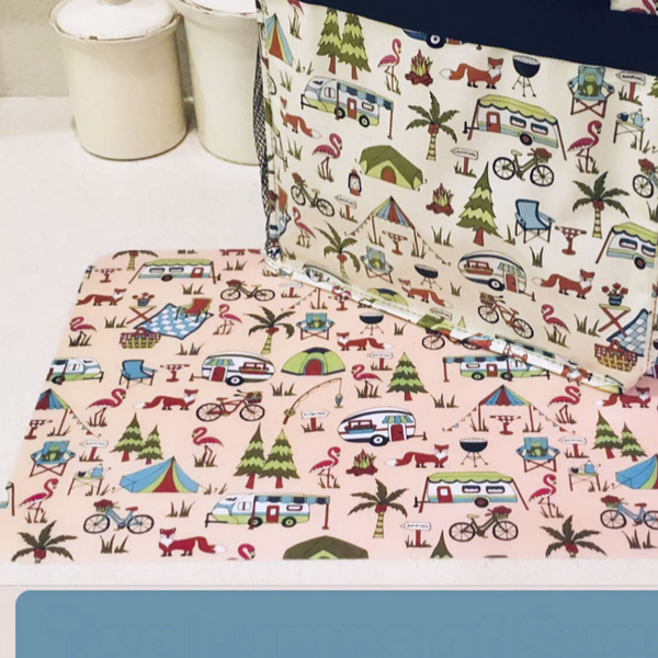 Travel Set of 4 Placemats