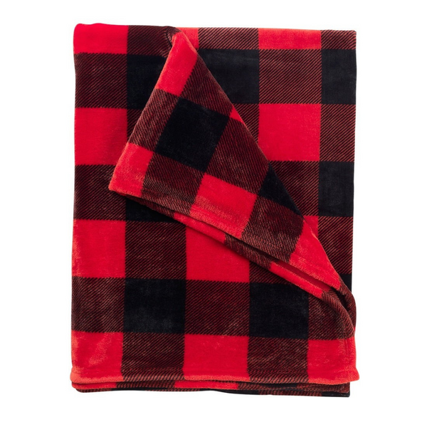 red buffalo blanket, blanket