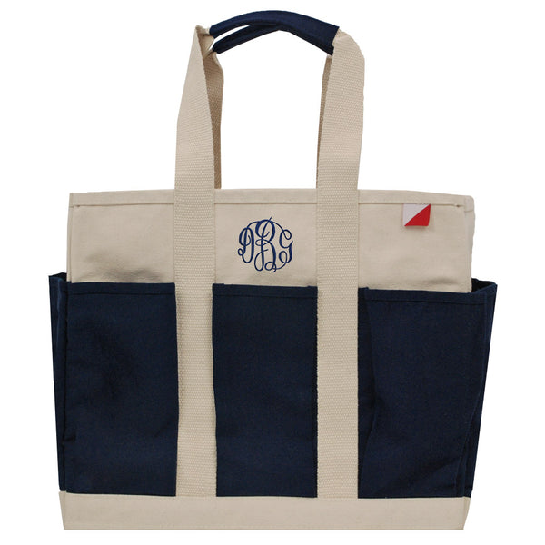 8 Pockets Utility Tote