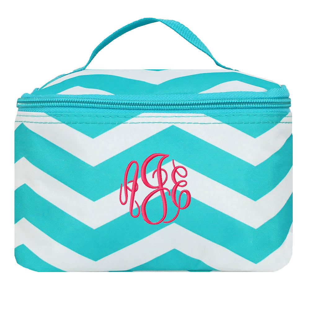 Chevron Cosmetic Bag Mini