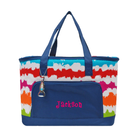 rainbow cooler, cooler tote
