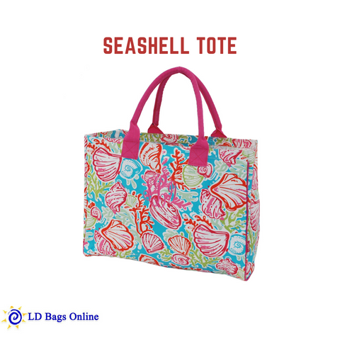 Personalized this Seashell Tote Bag