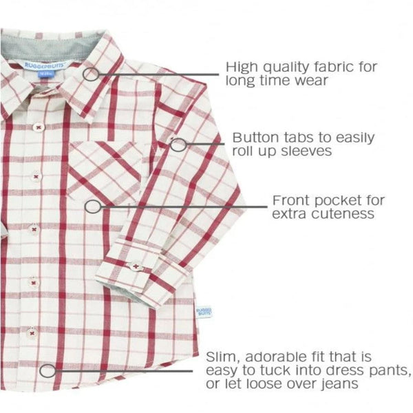 Cranberry Shirt for Babies