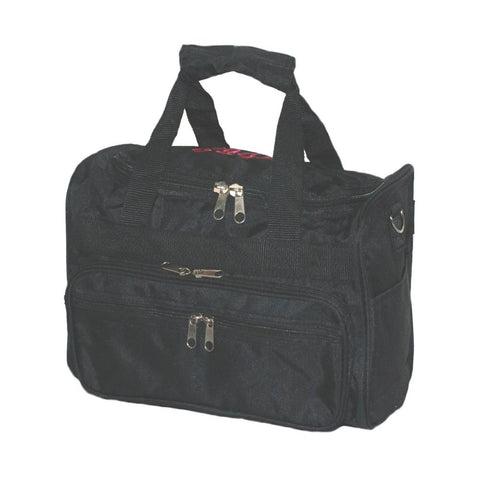 Personalized this Black Duffle Bag, perfect for travel and can be used as a gift as well.