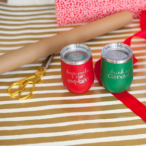Holiday Insulated Tumbler 12oz