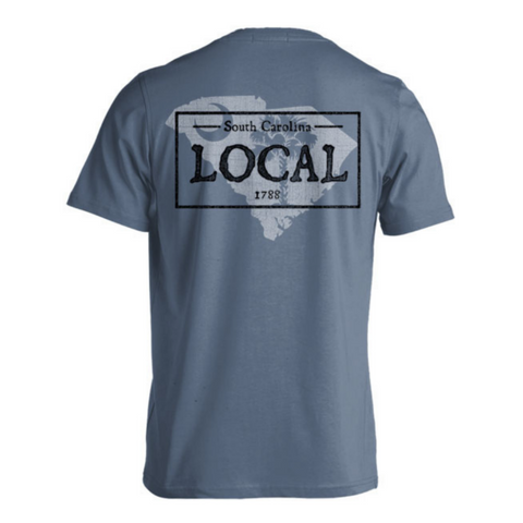 local tee, south carolina tee, unisex clothing