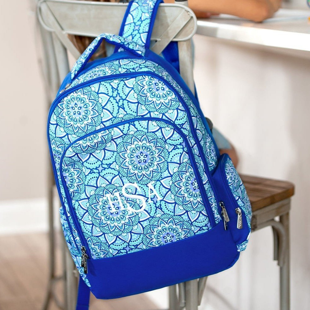 blue backpack for kids