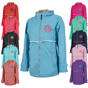 Personalized this New Englander Rain Jacket for Women comes in XS to 3XL sizes