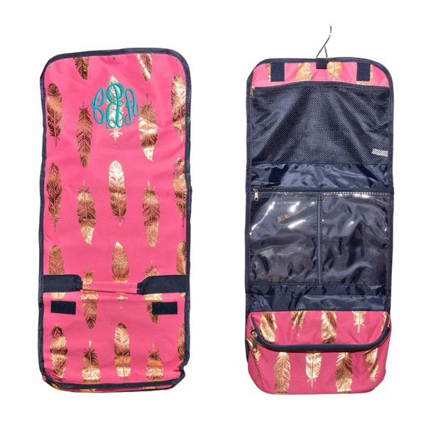 hanging travel makeup bag