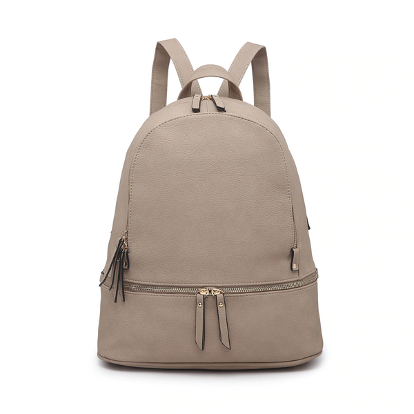 taupe backpack women