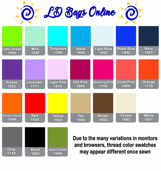 personalized, color chart