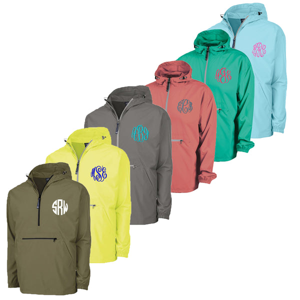 Personalized your Pack and Go Jacket with different colors to choose from, best for rainy season.