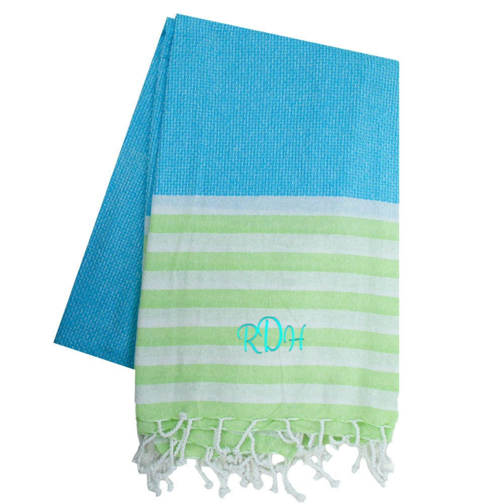 Personalized Large Beach Towel