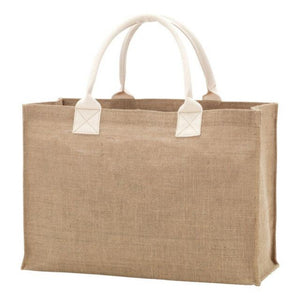 Personalized this Burlap Tote Bag