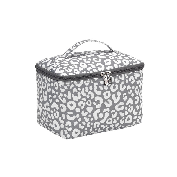Personalized this Smokey Leopard Cosmetic Bag