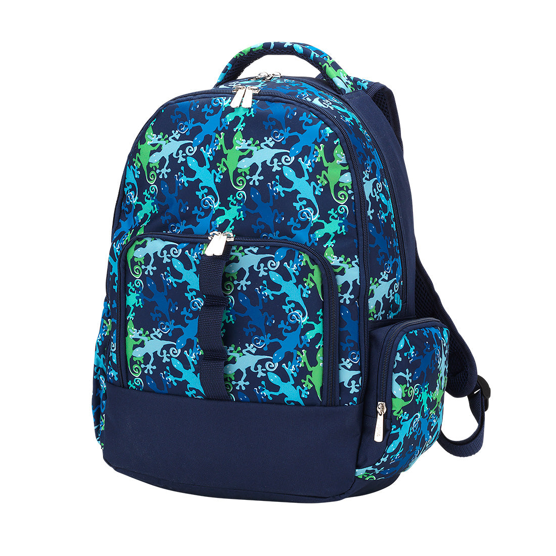 Personalized this Blue and Green Gecko Backpack