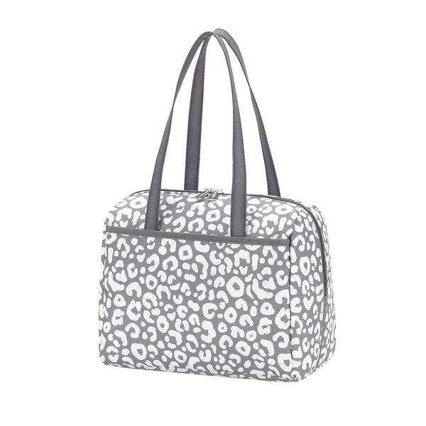 gray ladies lunch tote