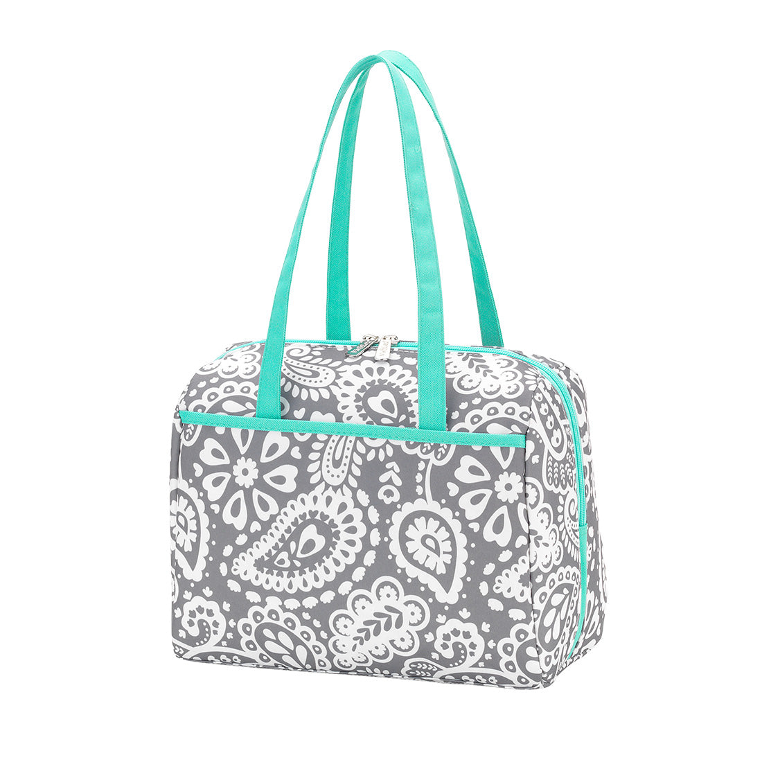 Personalized this Parker Paisley Lunch Tote