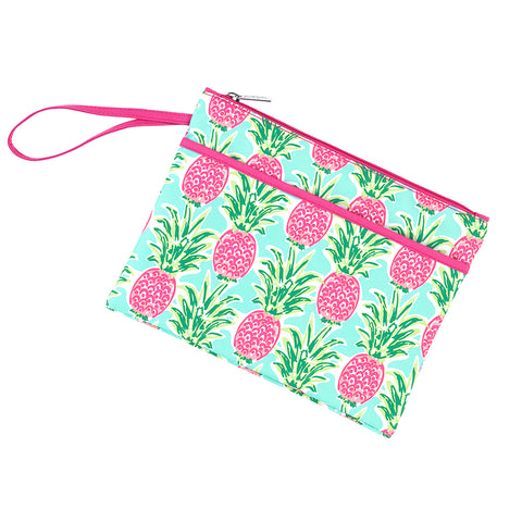 Personalized this Sweet Paradise Zip Pouch Wristlet