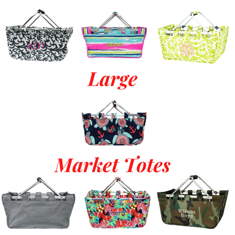large market tote, picnic tote