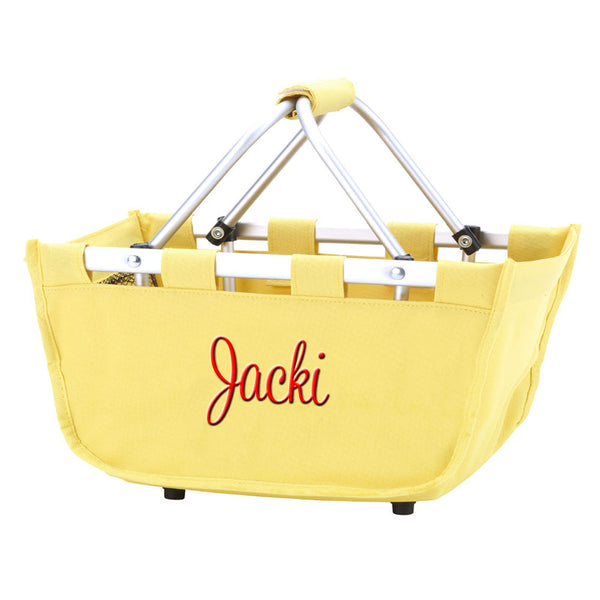yellow mini tote