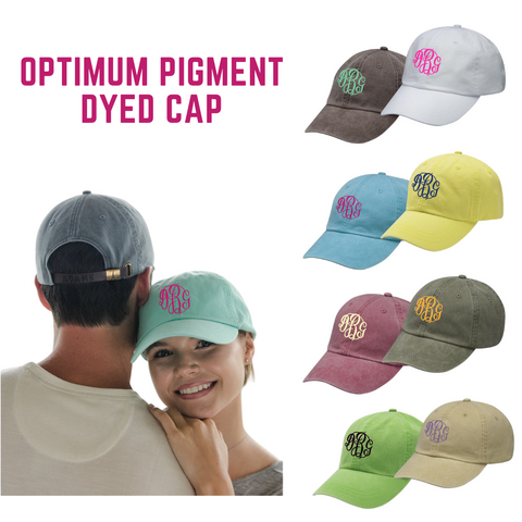 Adult Optimum Pigment Dyed Cap