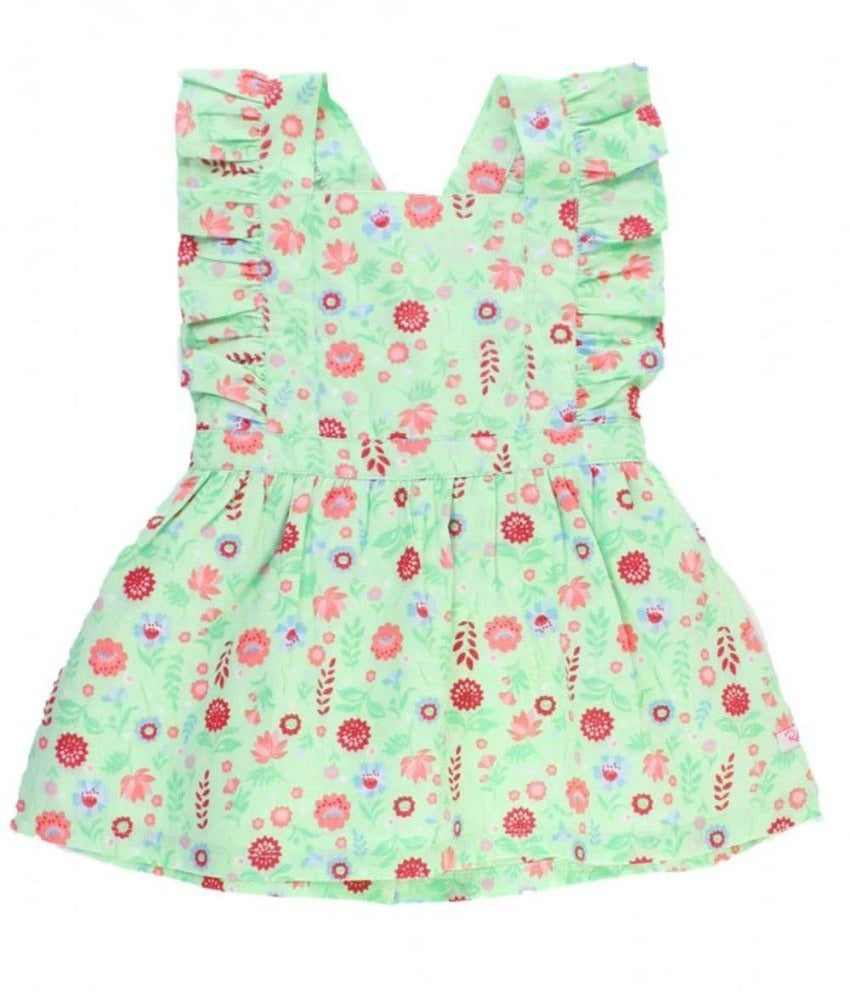 Floral Pinafore Dress for Babies