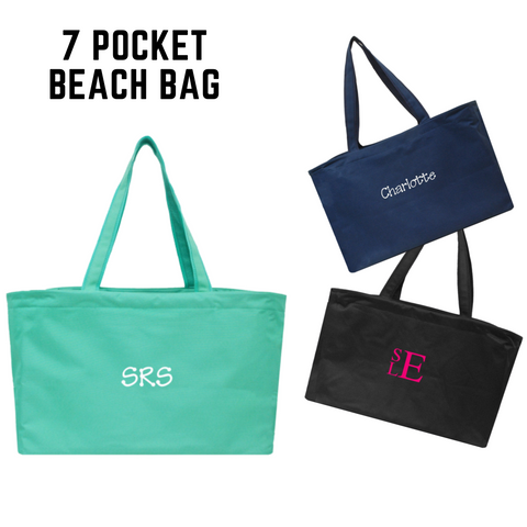 7 Pocket X-Large Beach Bag