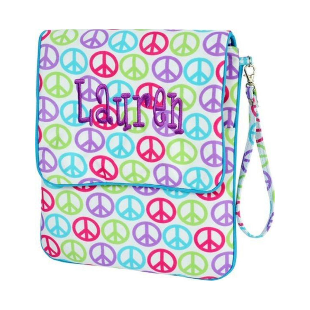 Hippie Bag Peace iPad Case
