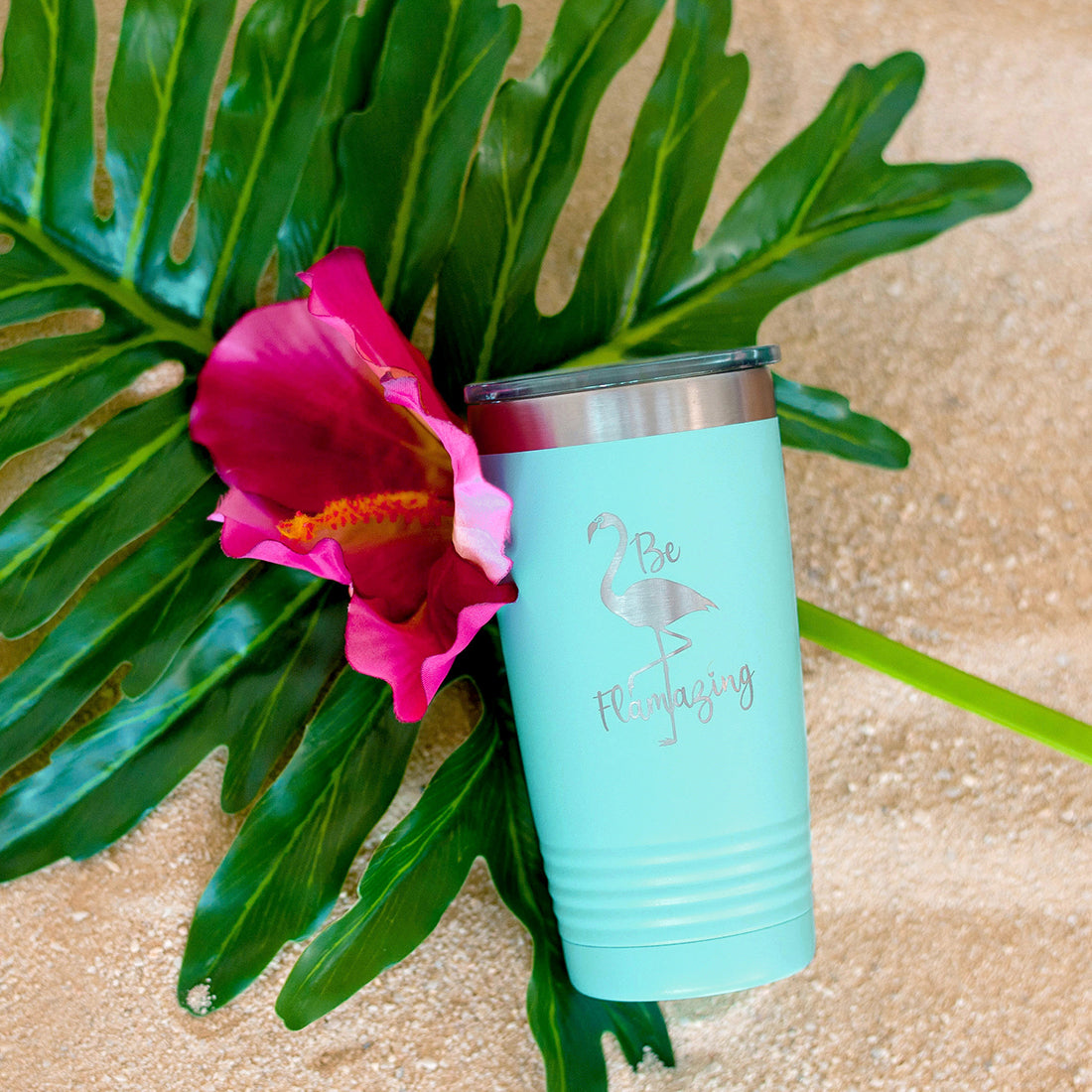 mint tumbler, 20 oz tumbler, be flamazing