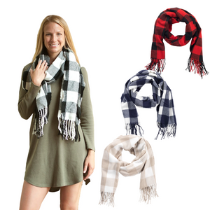 Personalized this Adeline Scarf comes in different colors, perfect to personalized and give it as a gift.