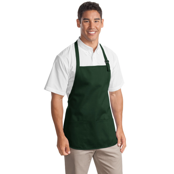 Personalized Medium Length Apron with Pockets