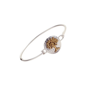 Tree of Life Bangle Hook Bracelet